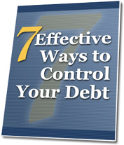 7 ways to control your debt